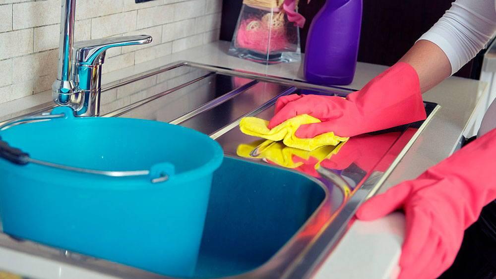 Клининг и уборка кухни